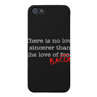Bacon No Love Sincerer Case For iPhone 5