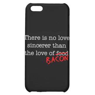 Bacon No Love Sincerer Case For iPhone 5C
