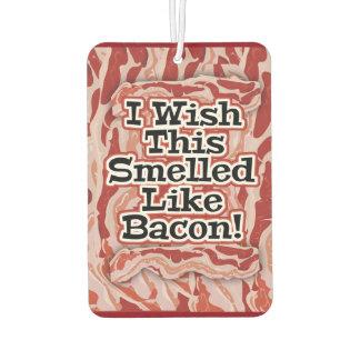 Bacon Not Bacon Car Air Freshener
