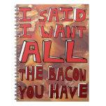 Bacon Notebooks