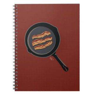 Bacon Notepad Spiral Notebook