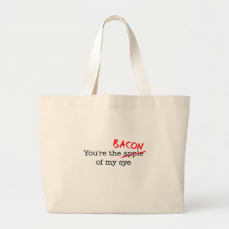 Bacon of My Eye Canvas Bags