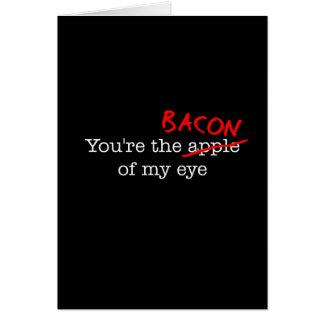 Bacon of My Eye Card