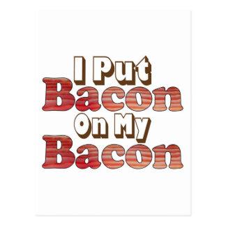 Bacon on Bacon Postcard