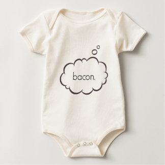 BACON ON THE BRAIN BABY BODYSUIT
