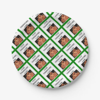 BACON PAPER PLATE