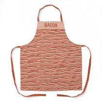 Bacon Pattern Custom Apron