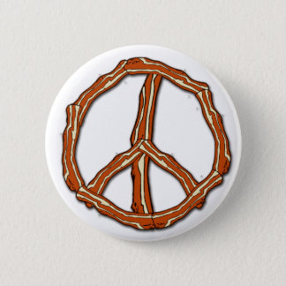 Bacon Peace Sign T-shirts, Hoodies, Gifts Button