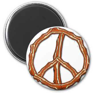Bacon Peace Sign T-shirts, Hoodies, Gifts Magnet