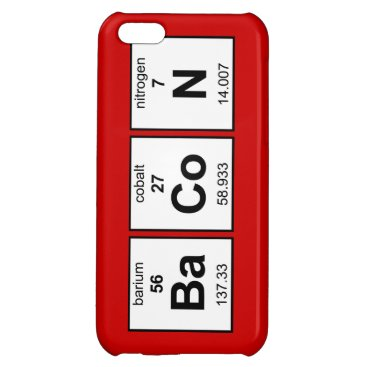 BaCoN Periodic Table Case For iPhone 5C