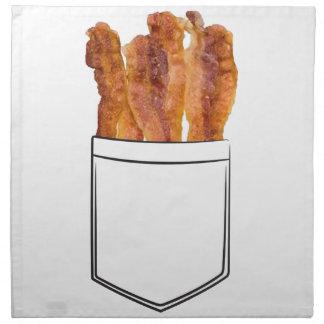 Bacon Pocket Cloth Napkin