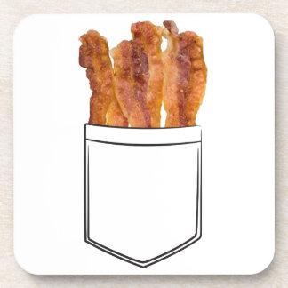 Bacon Pocket Drink Coasters