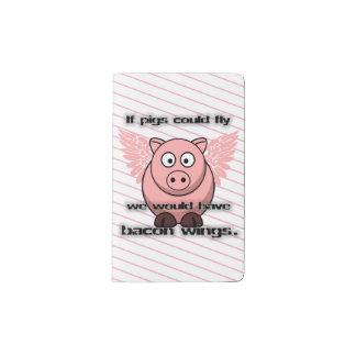 bacon pocket moleskine notebook