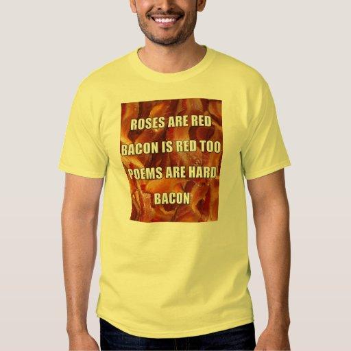 Bacon Poem Funny T-Shirt