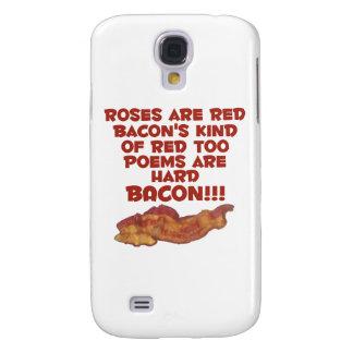 Bacon Poem Galaxy S4 Case
