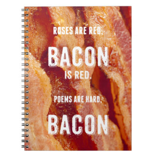 Bacon Poem Notebook