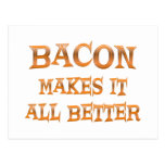 Bacon Post Card