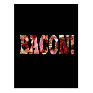 BACON! POSTCARD