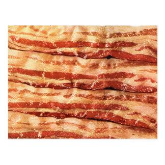bacon, postcard