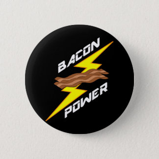 Bacon Power Pinback Button