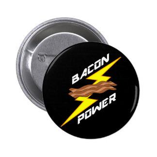 Bacon Power Pinback Button