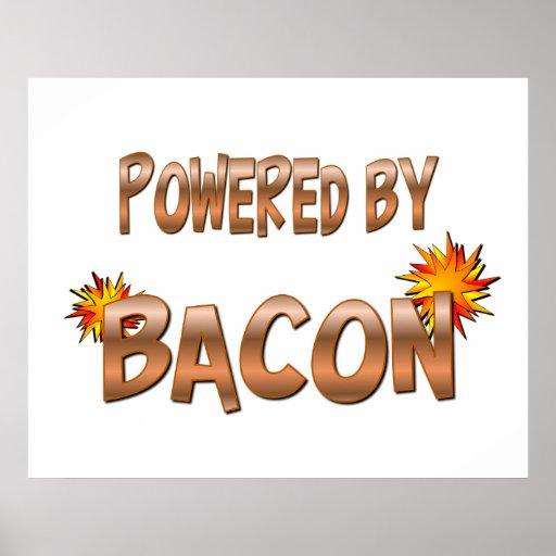 Bacon Power Poster