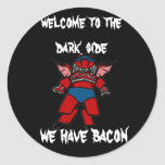 bacon power sticker