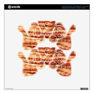bacon, PS3 controller decals