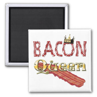 Bacon Queen with Crown Magnet