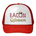 Bacon Queen with Crown Mesh Hats