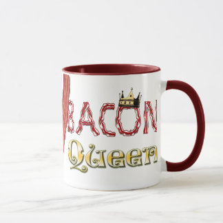 Bacon Queen with Crown Mug
