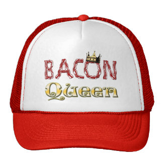 Bacon Queen with Crown Trucker Hat