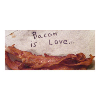Bacon Rack Card
