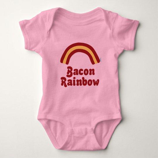 Bacon Rainbow Baby Clothes Baby Bodysuit