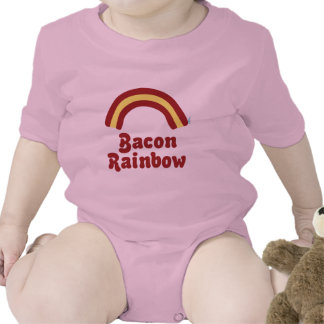 Bacon Rainbow Baby Clothes Baby Creeper