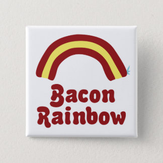 Bacon Rainbow Button
