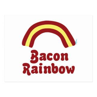 Bacon Rainbow Post Cards
