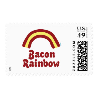 Bacon Rainbow Stamp