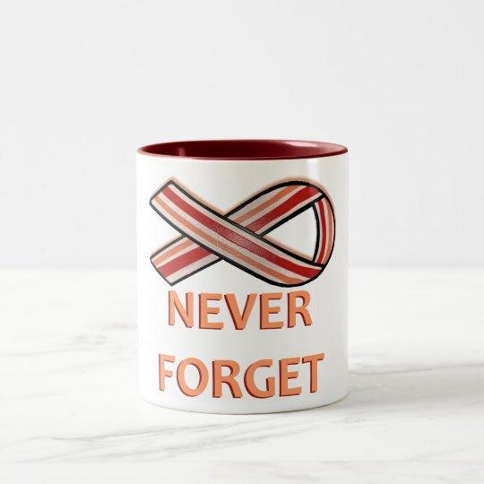 Bacon Ribbon Two-Tone Coffee Mug