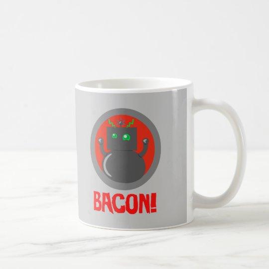 Bacon Robot Coffee Mug