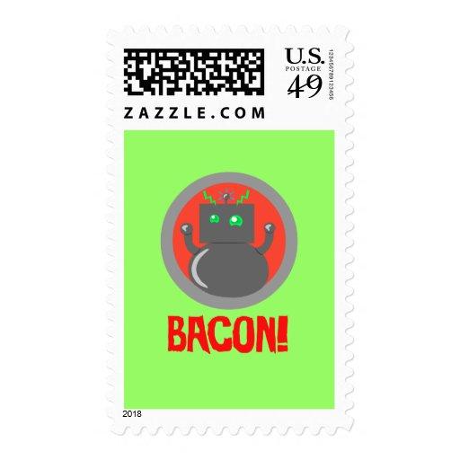 Bacon Robot Postage