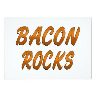 BACON ROCKS CARD