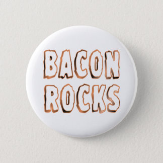 Bacon Rocks Pinback Button