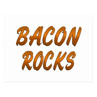 BACON ROCKS POSTCARD
