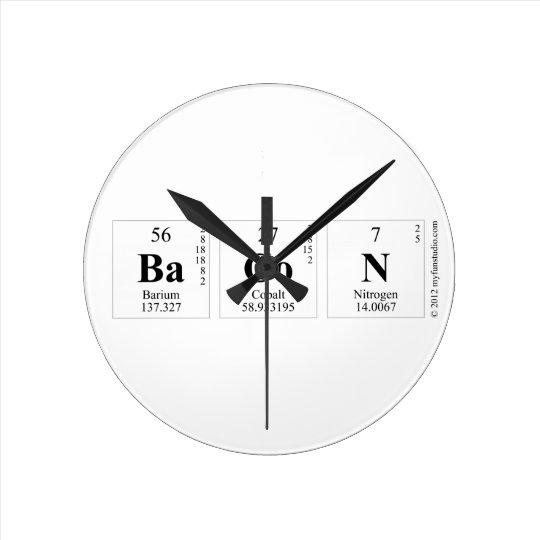 BaCoN Round Clock