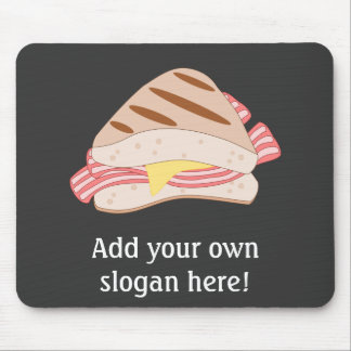 Bacon Sandwich Day Image Mouse Pad