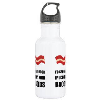 Bacon Seeds Stainless Steel Water Bottle