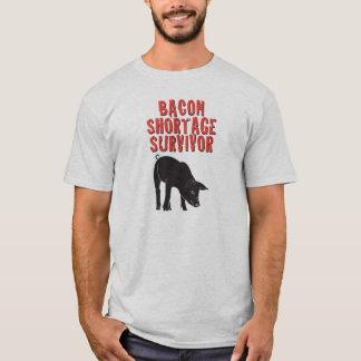 Bacon Shortage Survivor T-Shirt