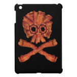 Bacon Skull and Crossbones Cover For The iPad Mini