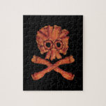 Bacon Skull and Crossbones Puzzles